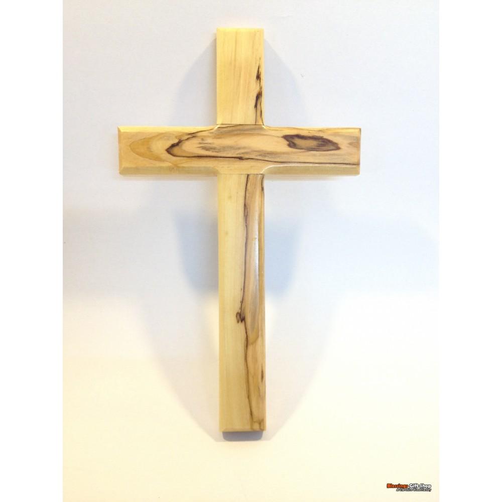 Olive Wood  Simple Cross