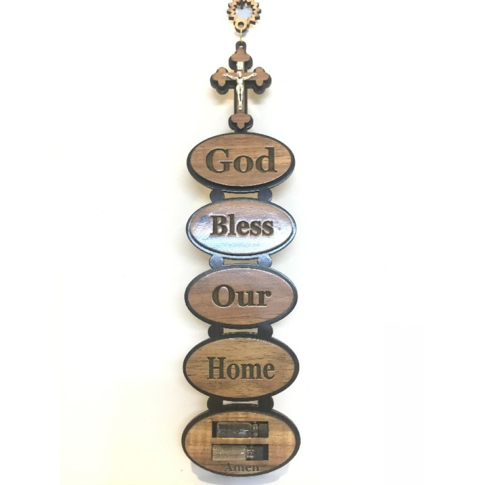 God Bless Our Home Blessing
