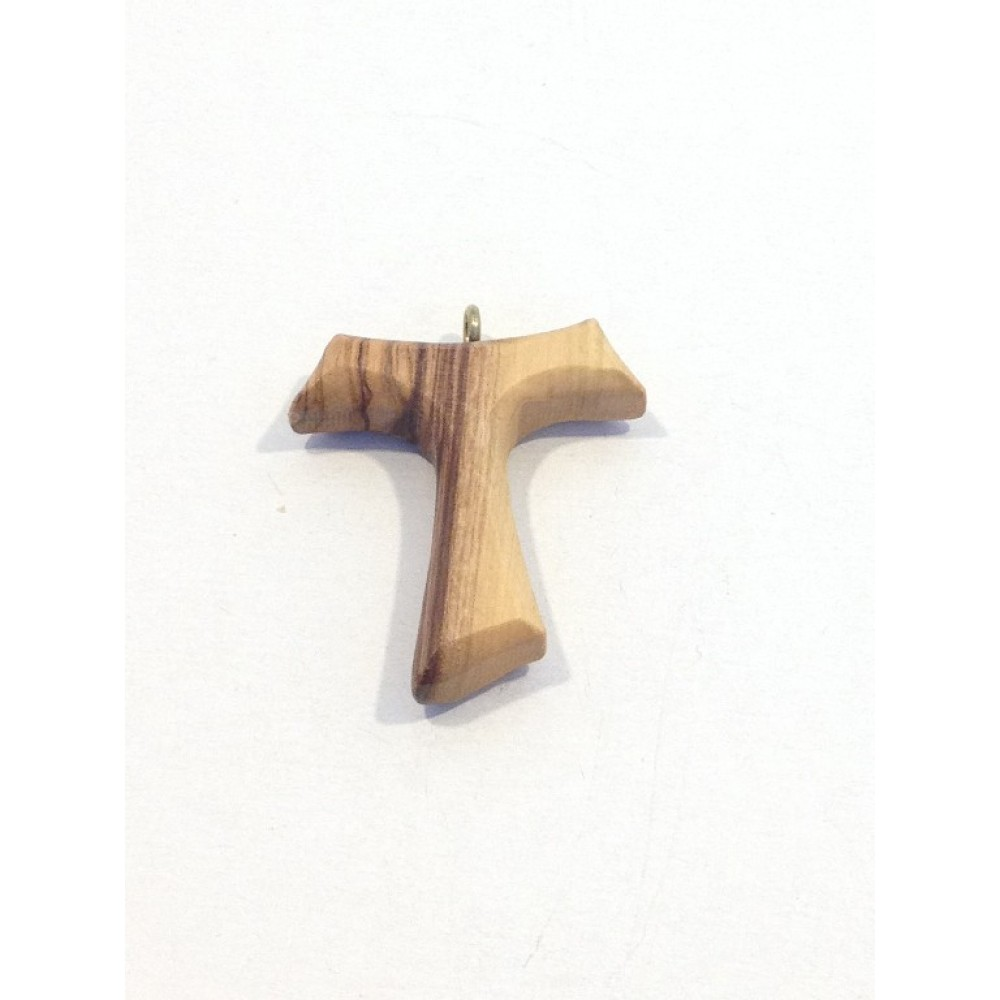 Olive Wood  Cross-Pendant