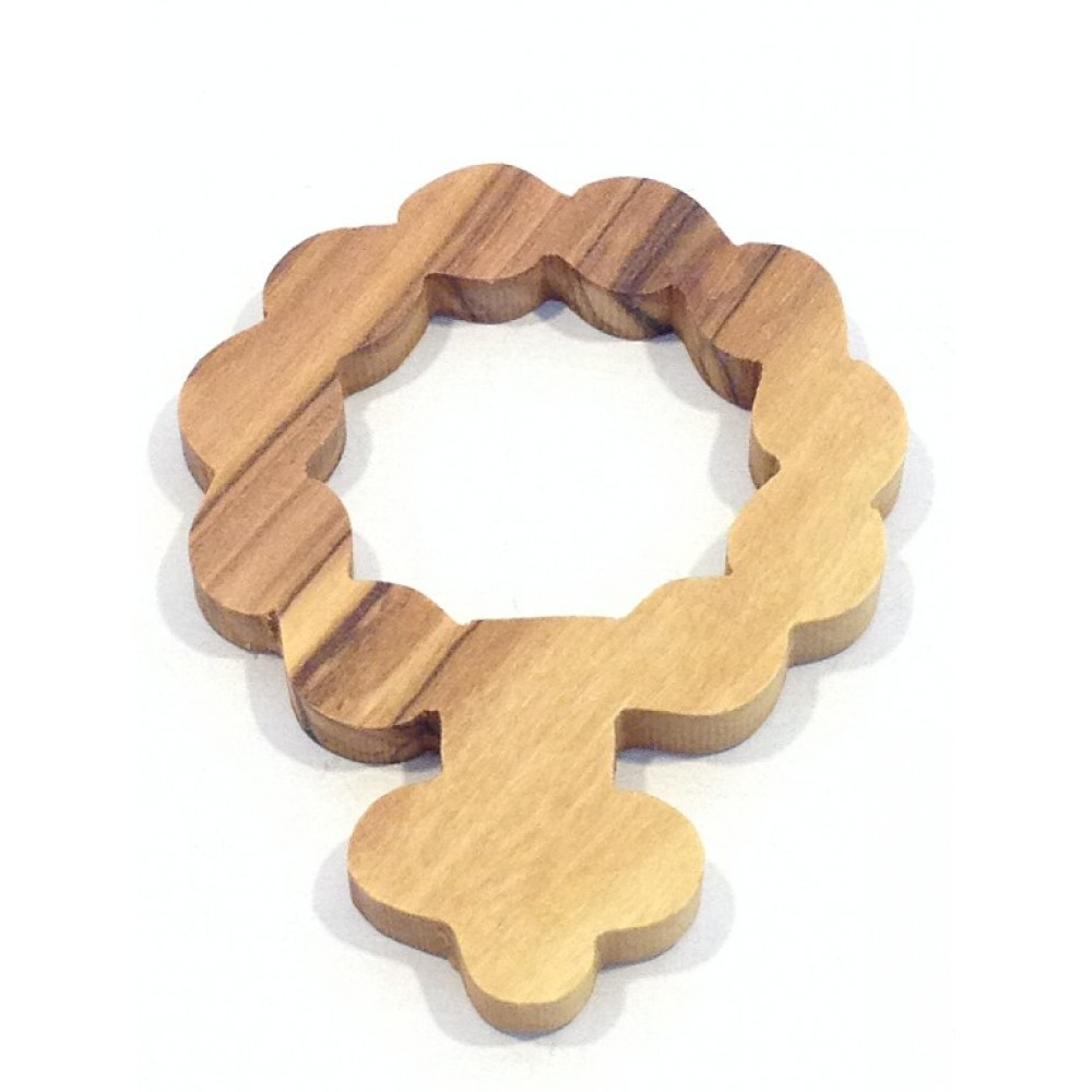 Olive Wood Finger Rosary