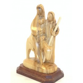 Olive Wood Flight To Egypt -Small