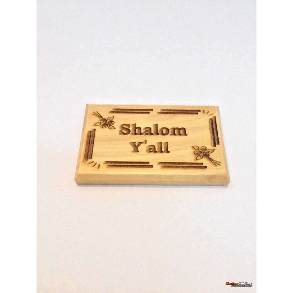 Olive Wood Magnet