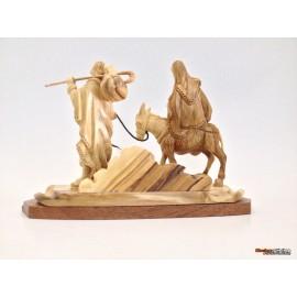 Olive Wood Flight To Egypt-Master piece