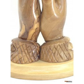 Olive Wood Praying Hands-Master piece