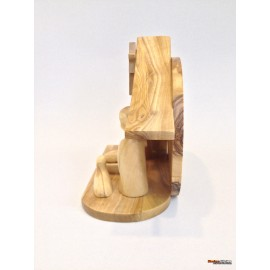 Olive Wood Crib-master Piece