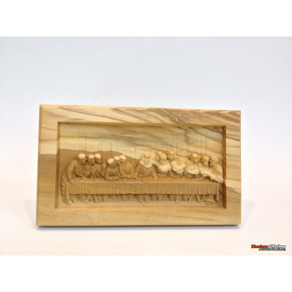 Olive Wood Last Supper-Detailed Piece