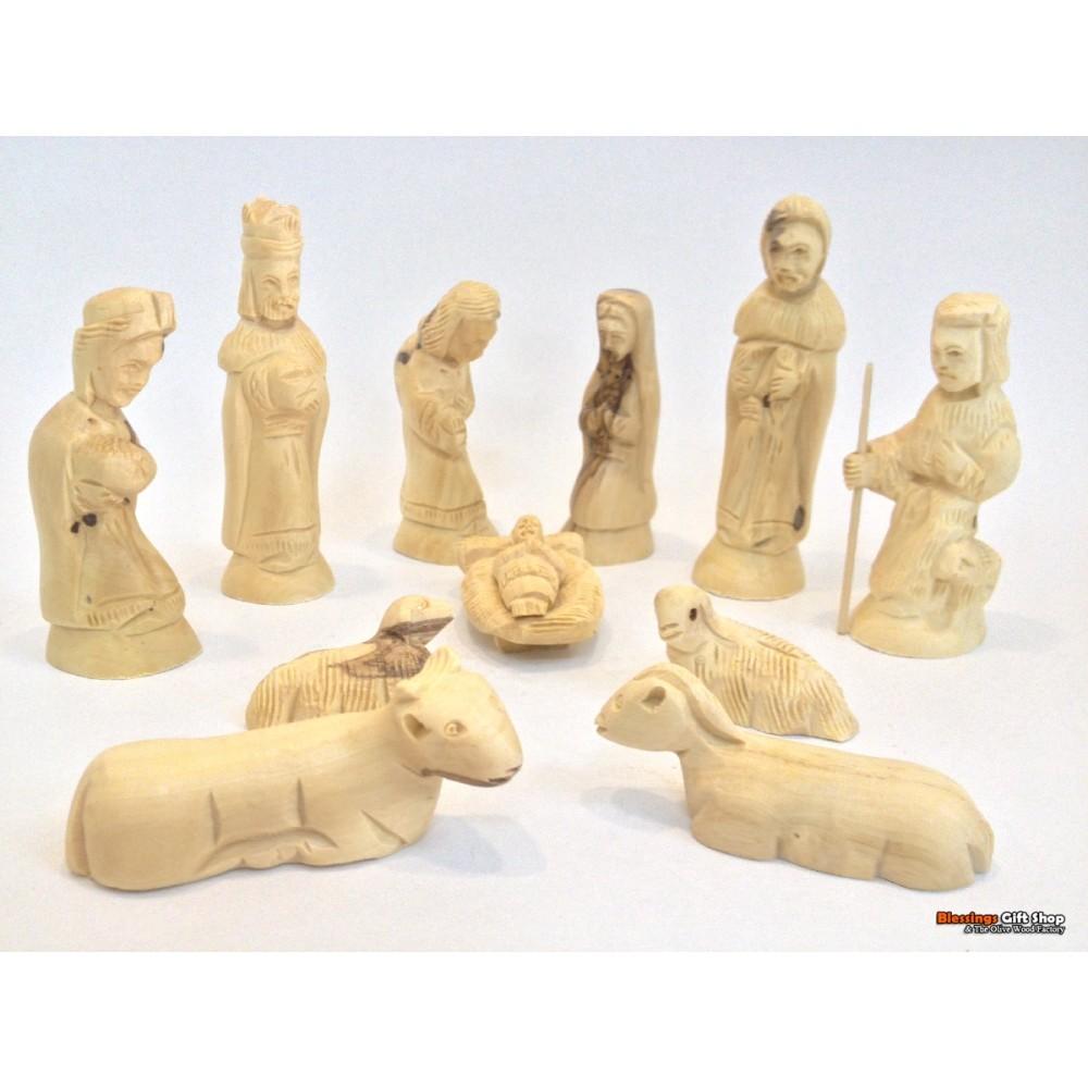 olive Wood Nativity Set