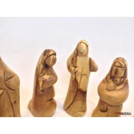 olive Wood Nativity Set -Medium
