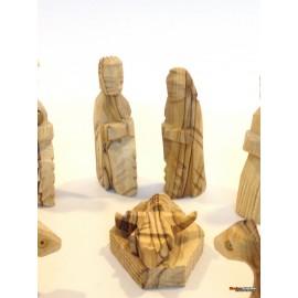 Olive Wood Nativity Set -Old Style