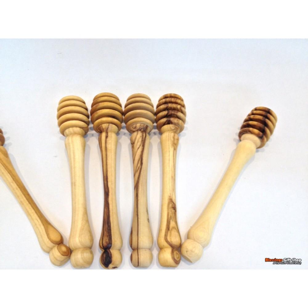 Olive Wood Honey Stick