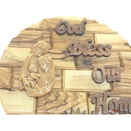 Holy Family Wall Plaque-Small